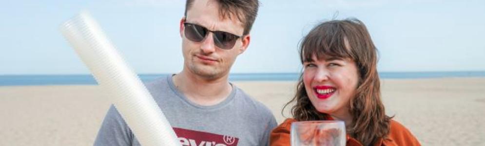 Qmusic gaat deze zomer voor volledig plastiekvrij Q-Beach House