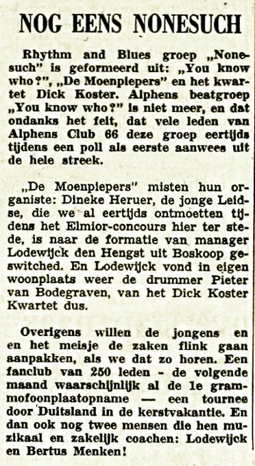 Lodewijk Den Hengst  1966-10-22 Nogmaals None-such (Leidse Courant).png