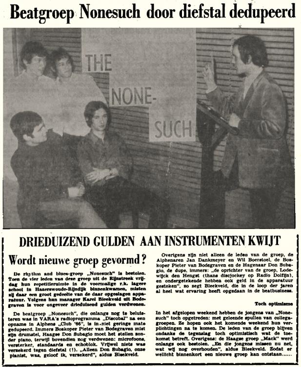 Lodewijk Den Hengst  1967-04-05 Beatgroep None-such door diefstal gedupeerd..png