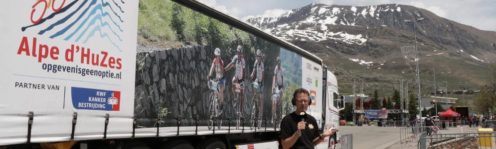 Alpe d'HuZes live op NPO Radio 5 met Bert Kranenbarg