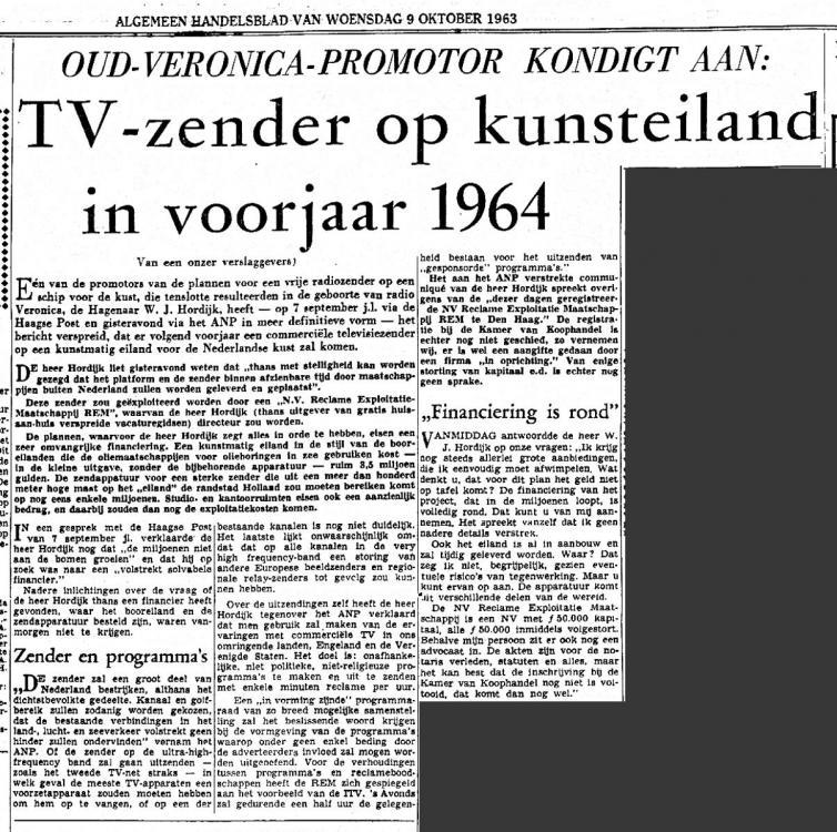 REM TV 1963-10-09 Tv zender opkunsteiland (Alg. Handelsblad).jpg