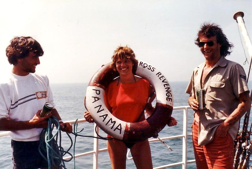 Blake Williams, Marjo Marcus,Tom Anderson, Caroline 1983.jpg