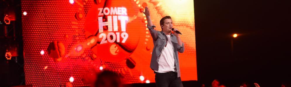 Niels Destadsbader wint voor de derde keer op rij Radio 2 Zomerhit