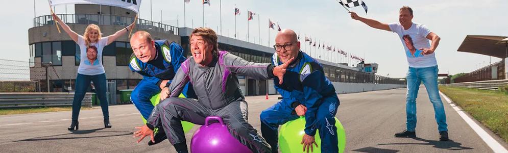 Frank Dane organiseert 538 Skippybal Race