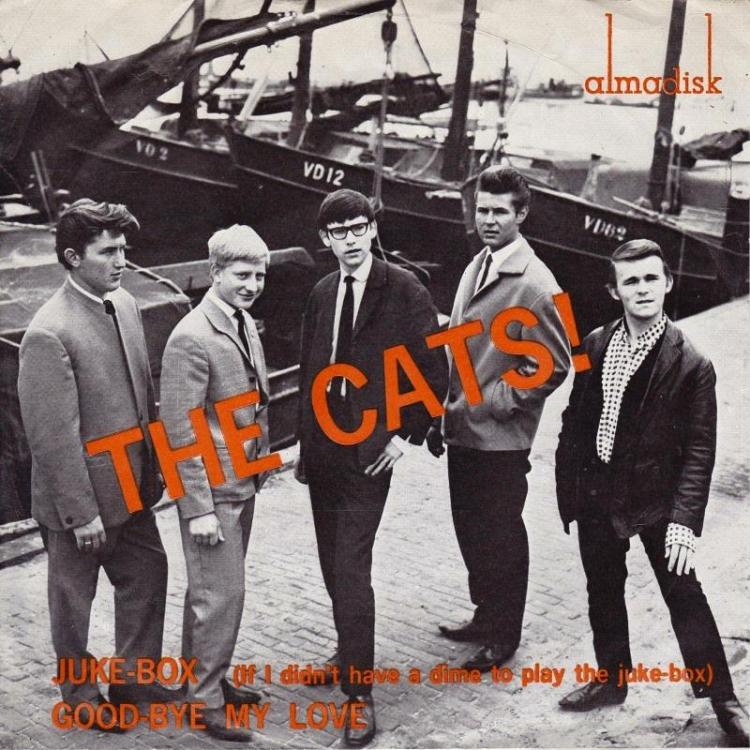 The  Cats - The jukebox (almadisk) front.jpg