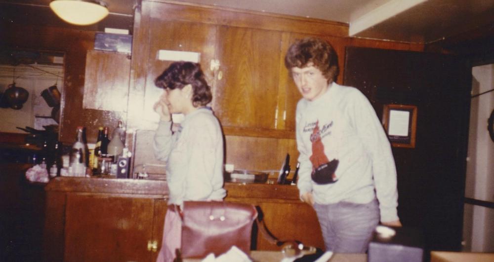 Diane Lauren, Grant Benson. Messroom Ross Revenge 1984.jpg