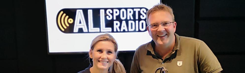 Mari Carmen Oudendijk en Krijn Schuitemaker nieuwe presentatoren ALLsportsradio