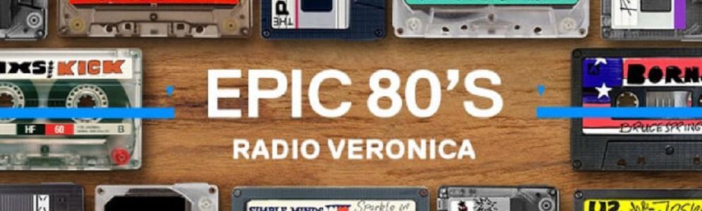 Nieuwe nummer 1 in Radio Veronica's Epic 80's Top 500