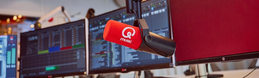 Qmusic marktleider onder mannen en tijdens Top 40