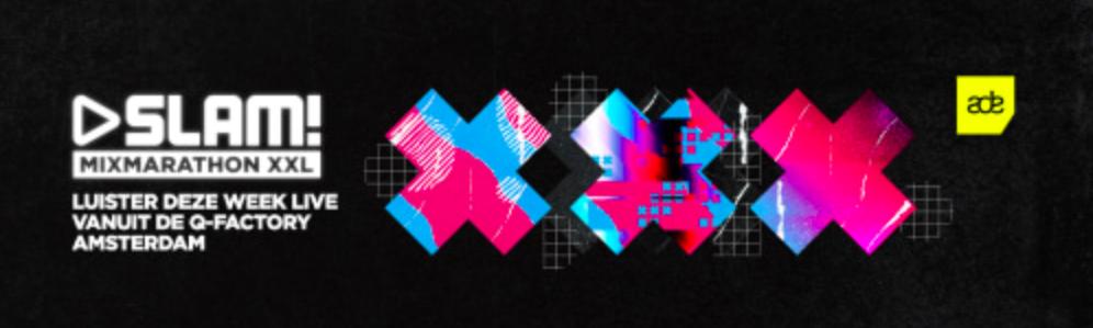 SLAM! MixMarathon XXL voor vijfde keer live vanuit Amsterdam