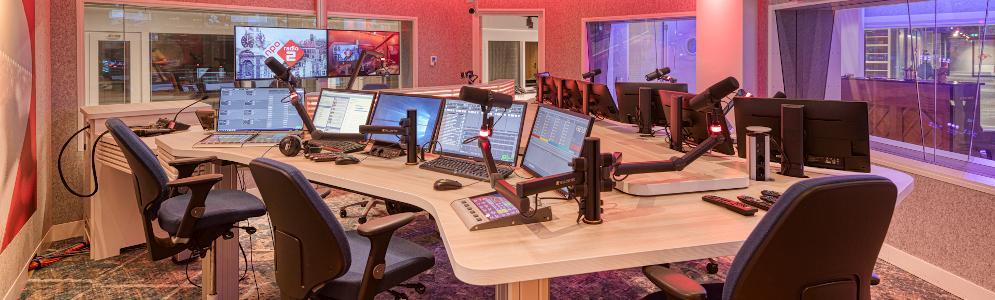 Landelijke publieke radiozenders onder één dak