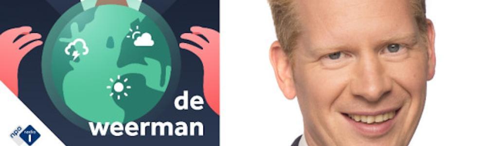Peter Kuipers Munneke begint weerpodcast
