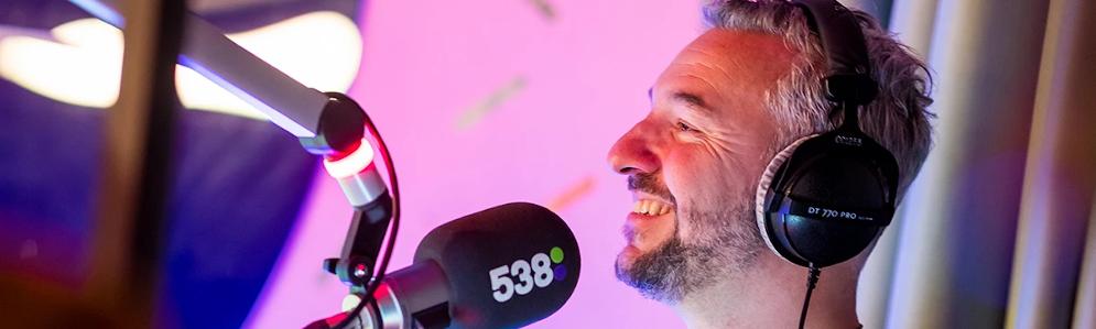 538 verhuist studio naar grote hoogte tijdens Amsterdam Dance Event