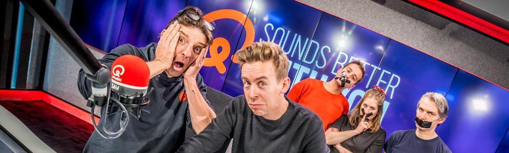 Koen Wauters en Jonas Van Geel beleven vuurdoop als ochtendpresentatoren op Qmusic