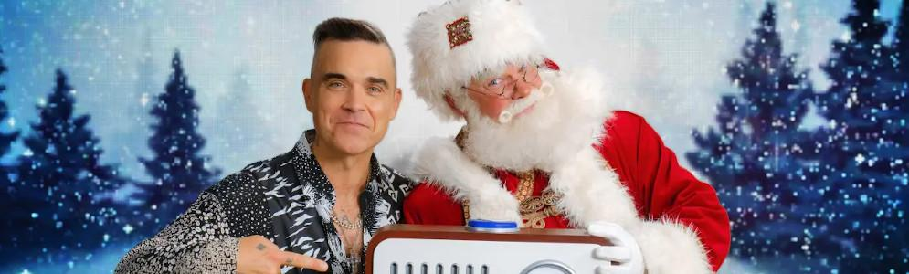Robbie Williams opent Sky Radio The Christmas Station