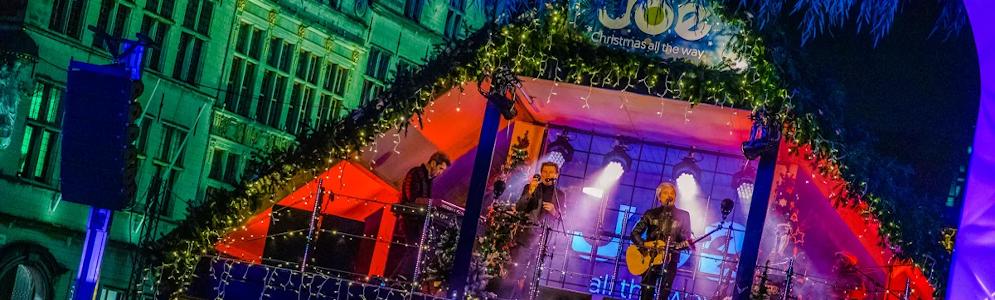 Joe opent voor de tweede keer op rij het Joe Christmas House in Antwerpen