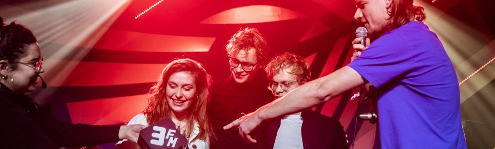 WIES wint 3FM Talent Award