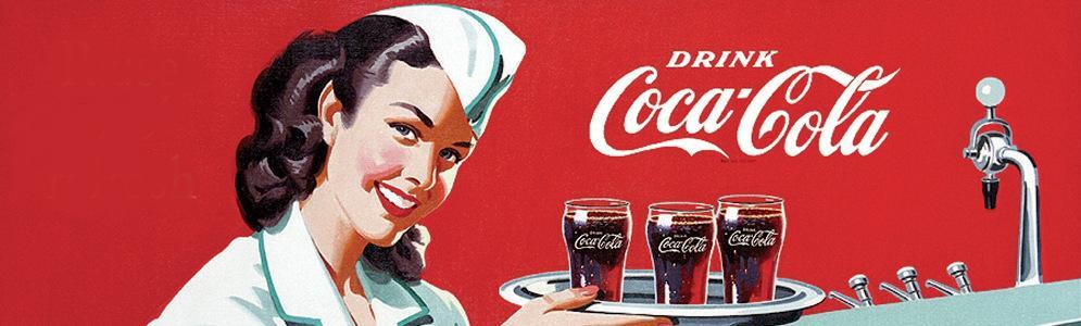 Column Hans Knot: Coca Cola commercials