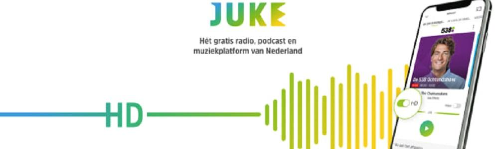 JUKE verrijkt haar audio platform met HD Audio