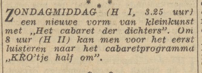 Het Parool KRO'tje Half om    15-01-1955 .jpg