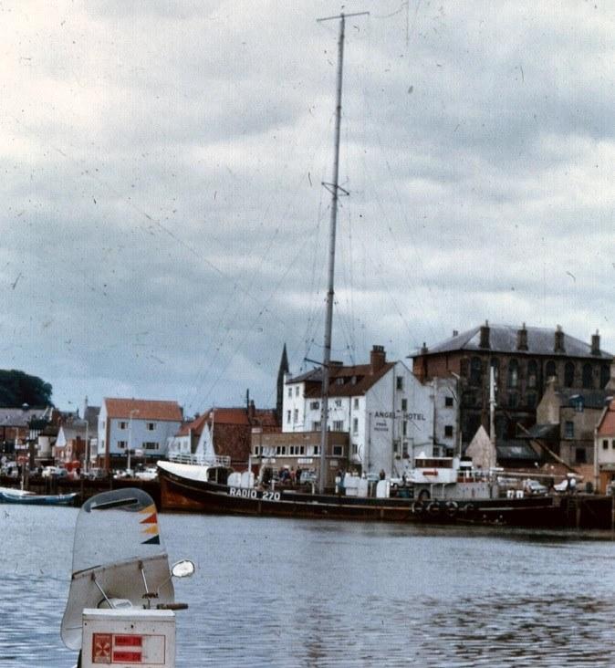 Radio 270 ship in Whitby on August 15 1967 R Ashton.jpg