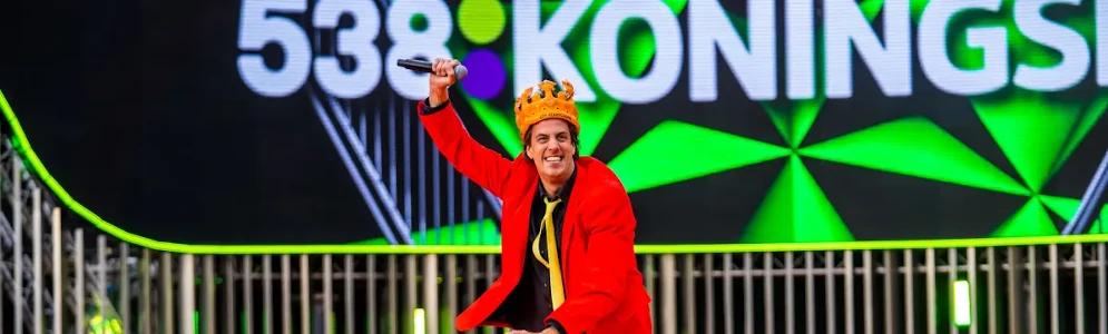 Snollebollekes, Lucas & Steve en Chef'Special eerste namen line-up 538 Koningsdag