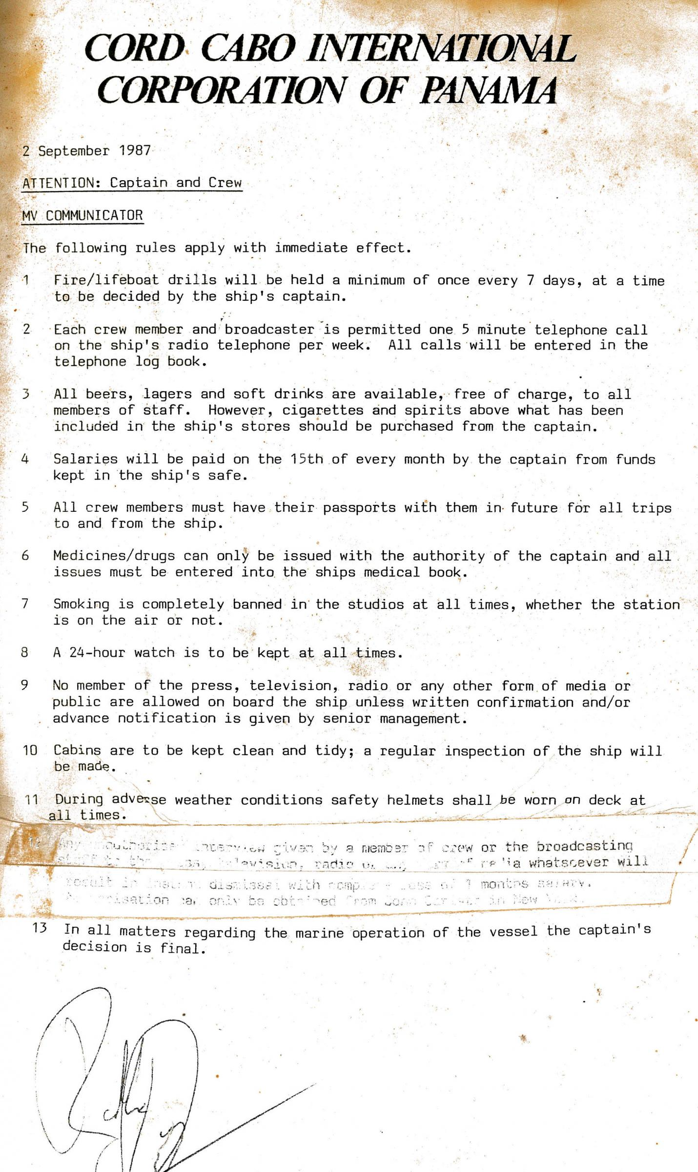 19870902 Rules Captain and Crew Cummunicator Laser.jpg