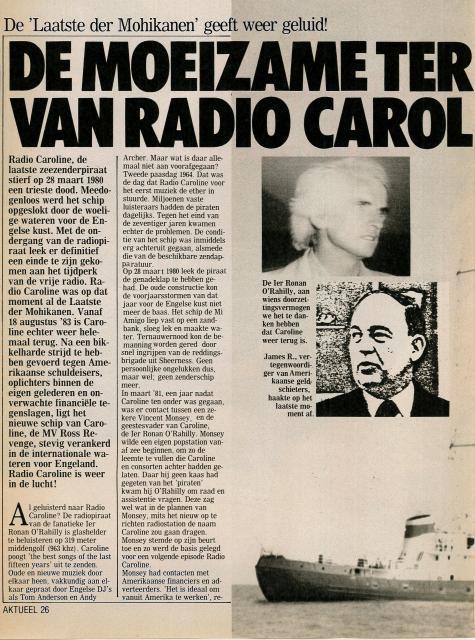 19831105 Aktueel De moeizame terugkeer van Radio Caroline 01.jpg