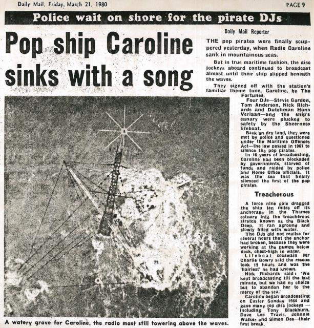 19800321 Daily Mail Pop ship Caroline sinks with a song.jpg