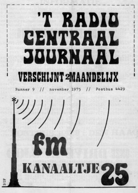 Radio Centraal Journaal - 19751100