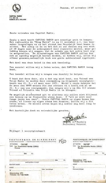 19701127 Capital Radio Bedelbrief Berthe Beydals.jpg