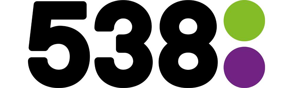 Radio 538 marktleider in 20/49 jaar