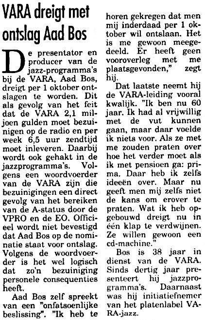 Nieuwsblad van het Noorden Aad Bos    10-06-1992 .jpg