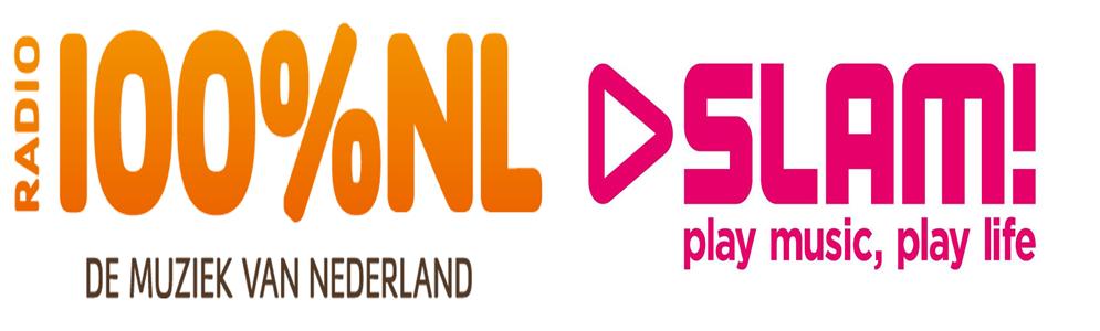 Luistercijfers 100% NL en SLAM! groeien fors