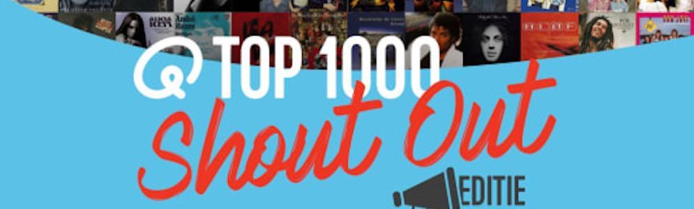 Luisteraars stellen Q-top 1000 Shout Out editie samen