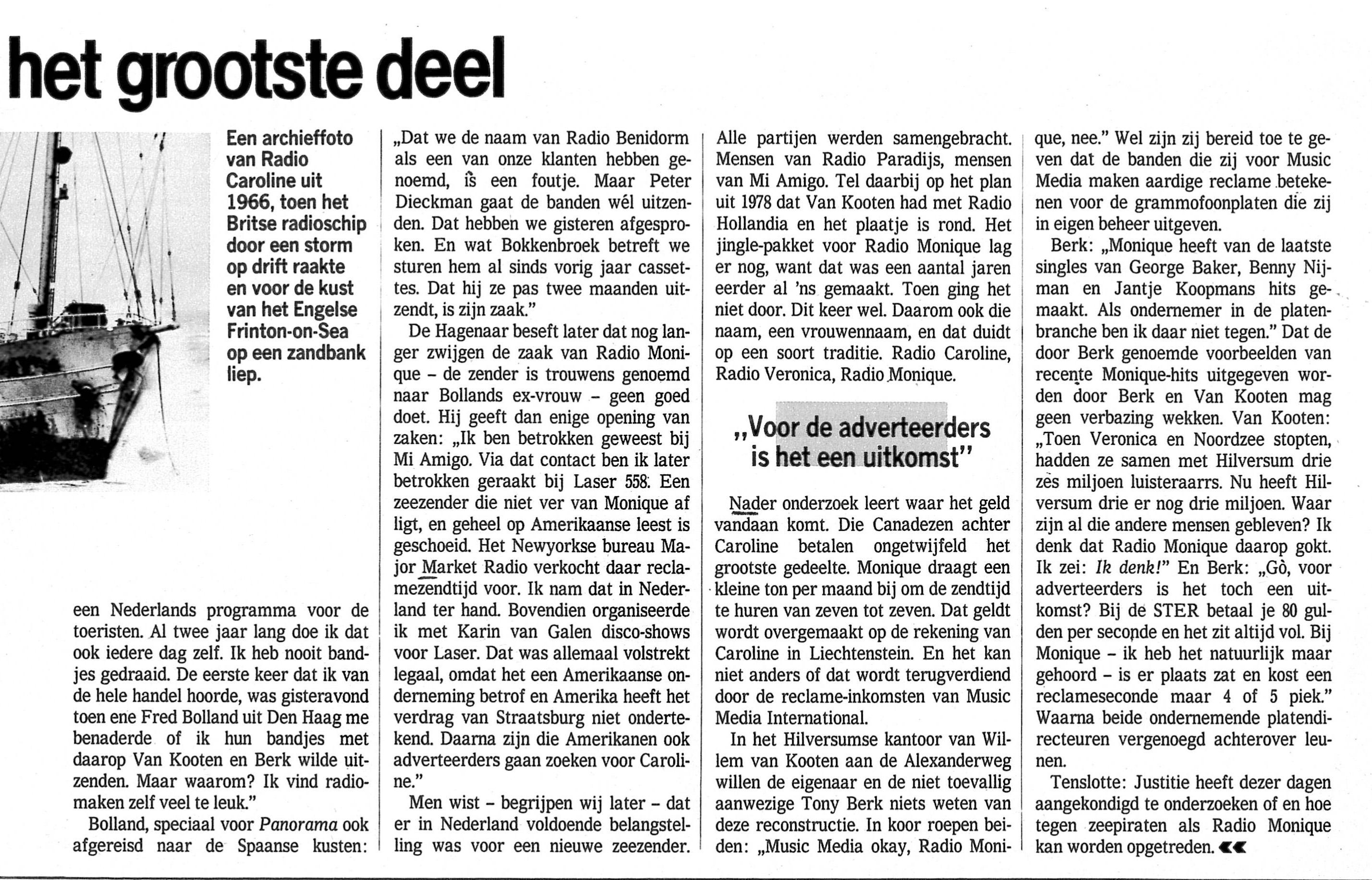 19850906 weekblad Het brein Hoe de stem van Joost via Radio Monique in de ether komt 04.jpg