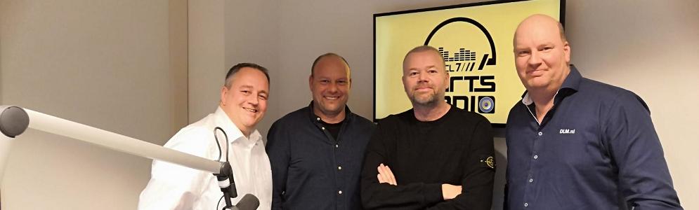 De Radiofabriek produceert RTL Darts Bullseye, de podcast