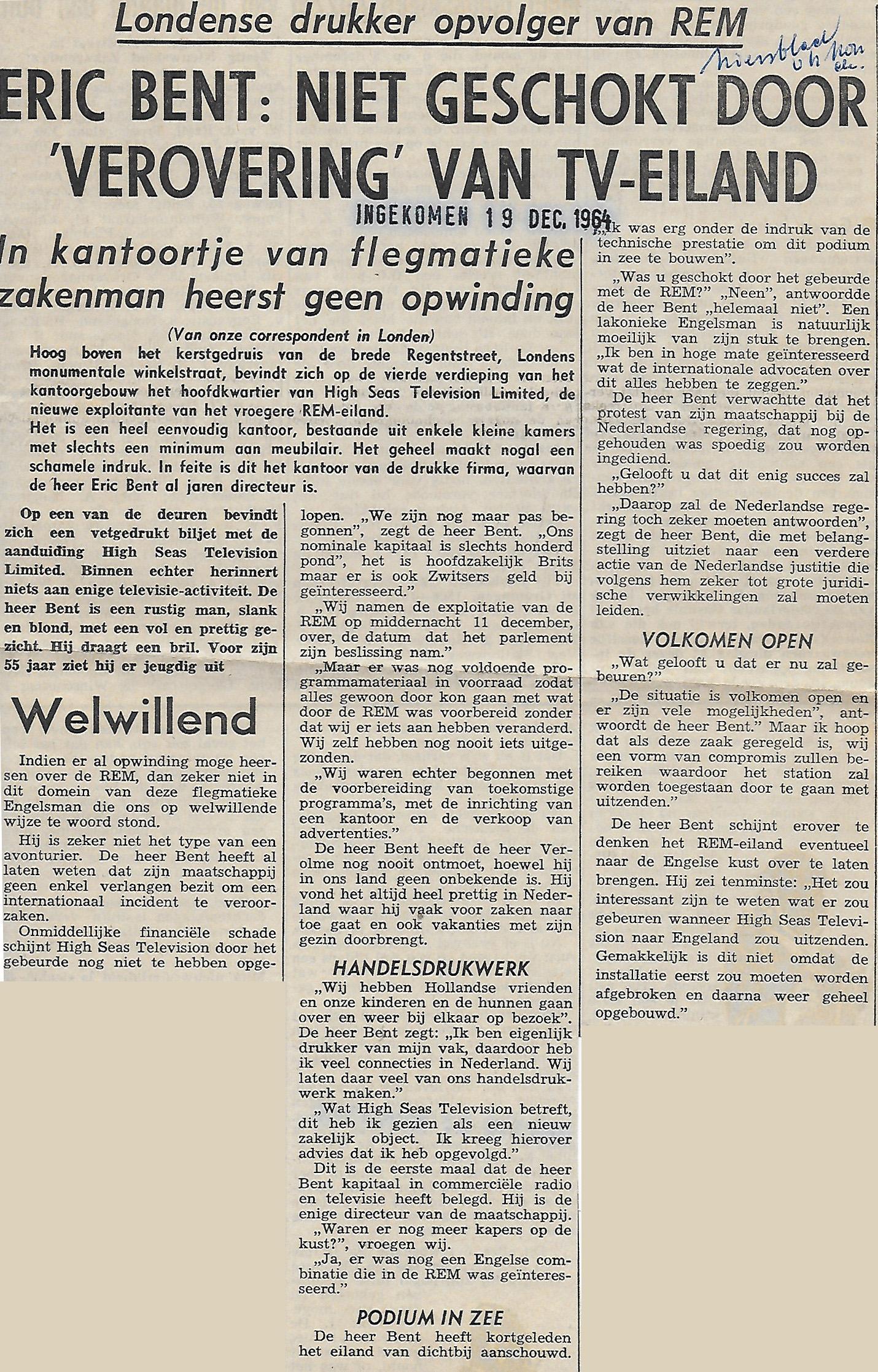 19641219 Niet geschokt door verovering van TV-eiland REM.jpg