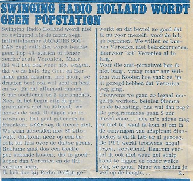 1967 Hitweek Dolfijn Jaques SoudainSwinging Radio Holland.jpg