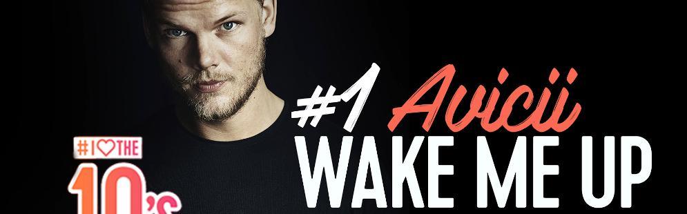 'Wake me Up' van Avicii op nummer 1 in eerste I Love The 10's Top 500 van Qmusic