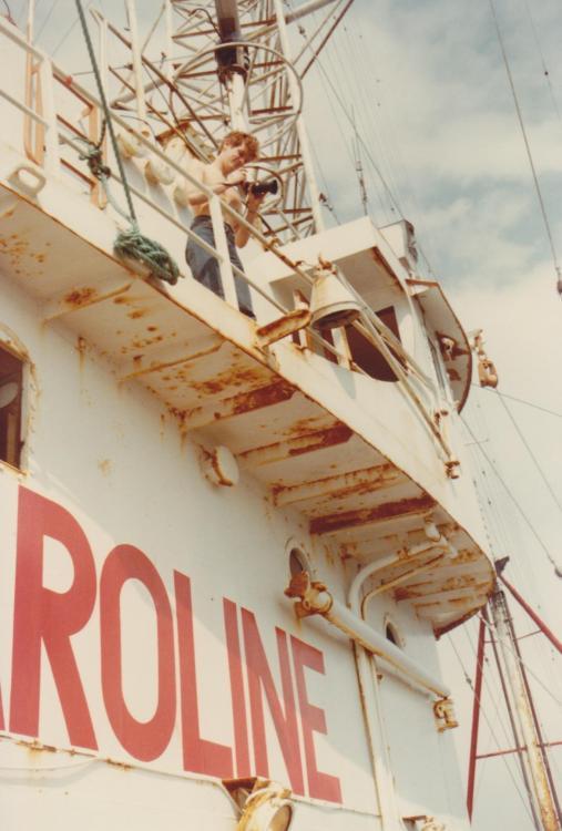 Frits Koning, Radio Monique Revenge 1985.jpeg