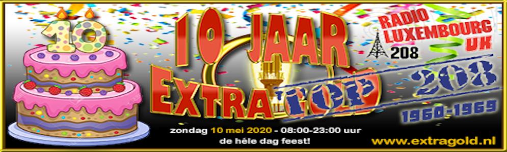 10 jaar Extra Gold met de 208 prettigste hits uit de jaren 60