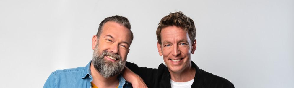 Jan-Willem Roodbeen en Jeroen Kijk in de Vegte tekenen nieuw driejarig contract bij BNNVARA