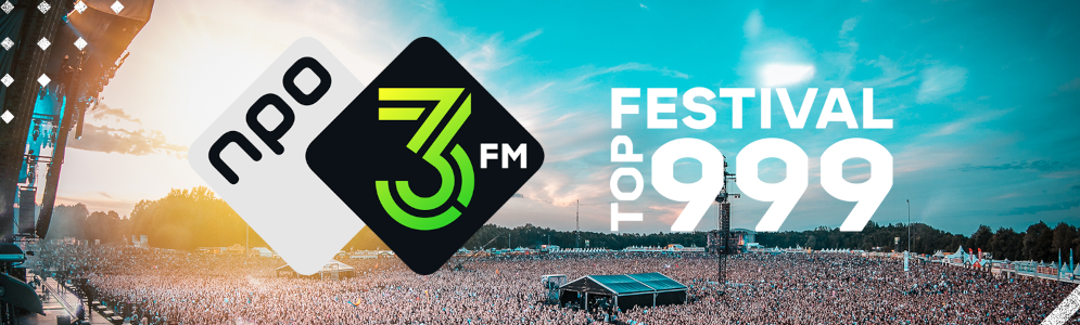 De Staat, Franz Ferdinand en Typhoon aan kop in 3FM Festival Top 999