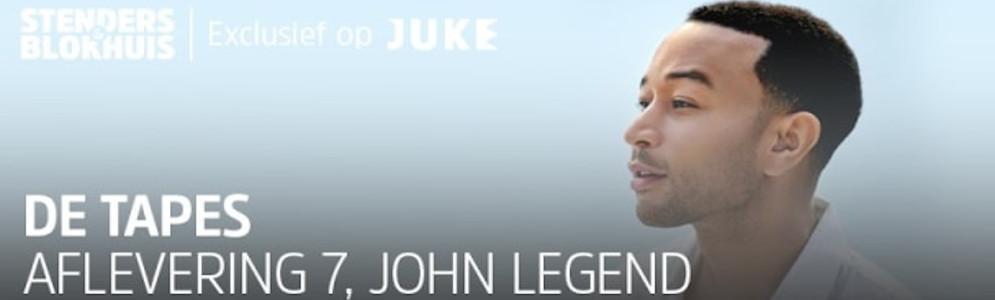 Exclusief gesprek met John Legend in 'De Tapes' van Stenders en Blokhuis op JUKE