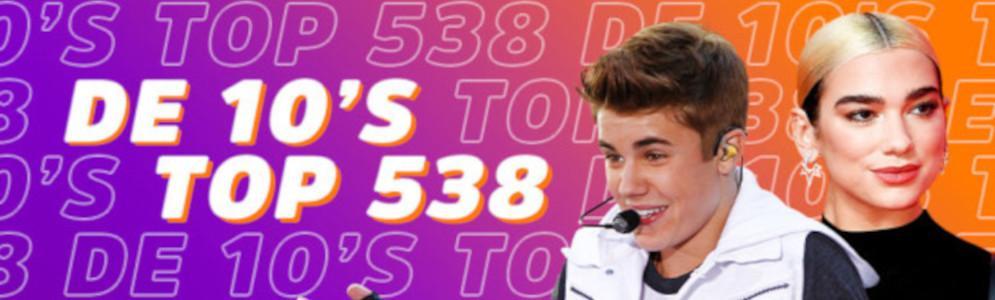 Terug in de tijd met 10's Top 538