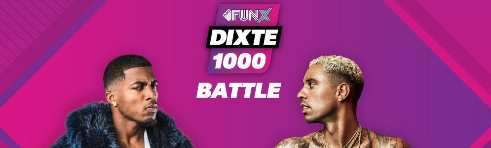NPO FunX DiXte 1000 zaterdag van start