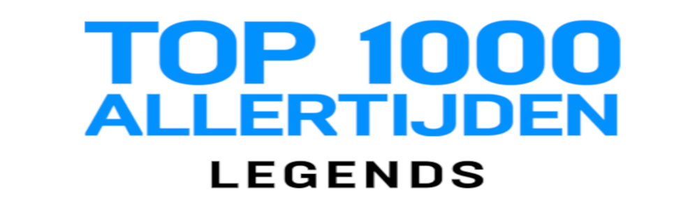 ​​​​​​​Muzikale legends op erepodium in Top 1000 Allertijden Legends podcast