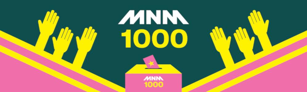 Met 'Verover Mij' voor het eerst een Nederlandstalige nummer 1 in de MNM1000