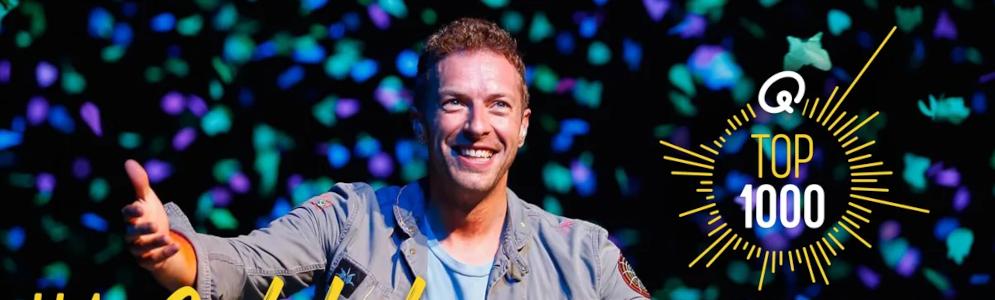 Viva La Vida van Coldplay bekroond tot beste hit aller tijden in Q-Top 1000